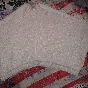 Mossimo crochet lace short